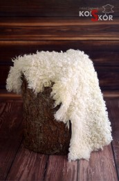 Sheep leather with white hair winding hit !!!